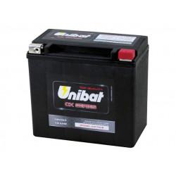 Мотоциклетен акумулатор UNIBAT CX16LB 19Ah, 12V