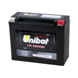 Мотоциклетен акумулатор UNIBAT CX24XL 20Ah, 12V