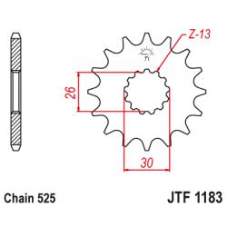 Предно зъбчато колело (пиньон) JTF1183,18