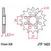 Предно зъбчато колело (пиньон) JTF1423,16 thumb