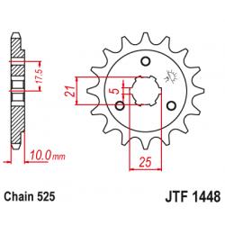 Предно зъбчато колело (пиньон) JTF1448,13