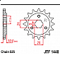 Предно зъбчато колело (пиньон) JTF1448,15