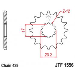 Предно зъбчато колело (пиньон) JTF1556,12
