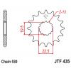 Предно зъбчато колело (пиньон) JTF435,15 thumb