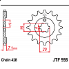 Предно зъбчато колело (пиньон) JTF555,14 thumb