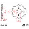 Предно зъбчато колело (пиньон) JTF576,15 thumb