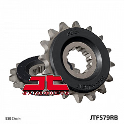 Предно зъбчато колело (пиньон) с успокоител за вибрации JTF579RB,16