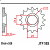 Предно зъбчато колело (пиньон) JTF583,14 thumb