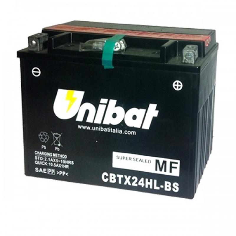 Акумулатор за мотор Unibat 21 Ah, 12 V - CBTX24HL-BS thumb