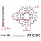 Самопочистващо се предно зъбчато колело (пиньон) JTF1323SC,13