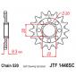 Самопочистващо се предно зъбчато колело (пиньон) JTF1446SC,13