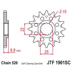 Самопочистващо се предно зъбчато колело (пиньон) JTF1901SC,13