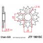 Самопочистващо се предно зъбчато колело (пиньон) JTF1901SC,14