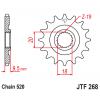 Предно зъбчато колело (пиньон) JTF268,13 thumb