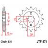 Предно зъбчато колело (пиньон) JTF574,16 thumb
