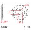 Предно зъбчато колело (пиньон) JTF825,13 thumb