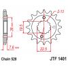 Предно зъбчато колело (пиньон) JTF1401,16 thumb