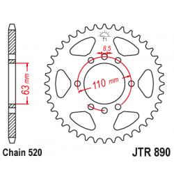 Задно зъбчато колело JTR890,45