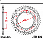 Задно зъбчато колело JTR899,45 thumb
