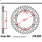 Задно зъбчато колело JTA822,50 thumb