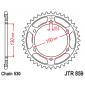 Задно зъбчато колело JTR859,42 thumb