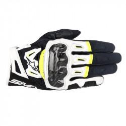Ръкавици ALPINESTARS SMX-2 AIR CARBON V2 BLACK/WHITE/YELLOW