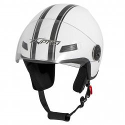 Каска за скутер FEVER WHITE