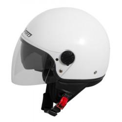 Каска за скутер TRAFFIC WHITE