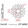 Предно зъбчато колело (пиньон) JTF1443SC,13 thumb