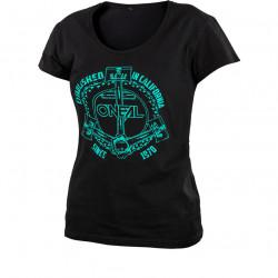 Дамска мото тениска O'NEAL ANCHOR BLACK