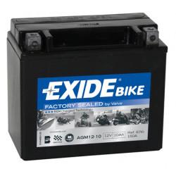Мото акумулатор EXIDE 12V - AGM12-10