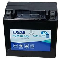 Мото акумулатор EXIDE 12V - AGM12-12