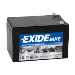 Мото акумулатор EXIDE 12V - AGM12-12F