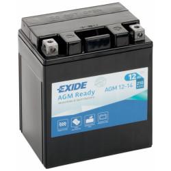 Мото акумулатор EXIDE 12V - AGM12-14