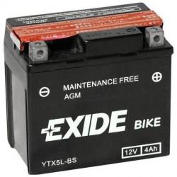 Мото акумулатор EXIDE 12V - YTX5L-BS