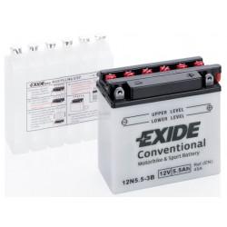 Мото акумулатор EXIDE 12V - 12N5,5-3B