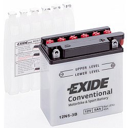 Мото акумулатор EXIDE 12V - 12N5-3B