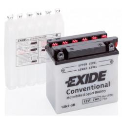 Мото акумулатор EXIDE 12V - 12N7-3B