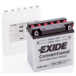 Мото акумулатор EXIDE 12V - 12N9-4B-1