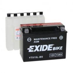 Мото акумулатор EXIDE 12V -YTX15L-BS