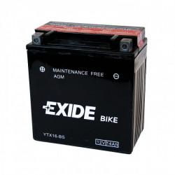 Мото акумулатор EXIDE 12V - YTX16-BS
