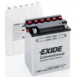 Мото акумулатор EXIDE 12V - 12N14-3A