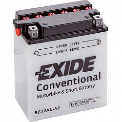 Мото акумулатор EXIDE 12V - YB12AL-A2