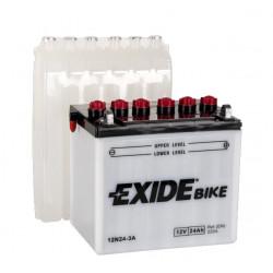 Мото акумулатор EXIDE 12V - 12N24-3A