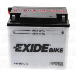 Мото акумулатор EXIDE 12V - Y60-N24L-A