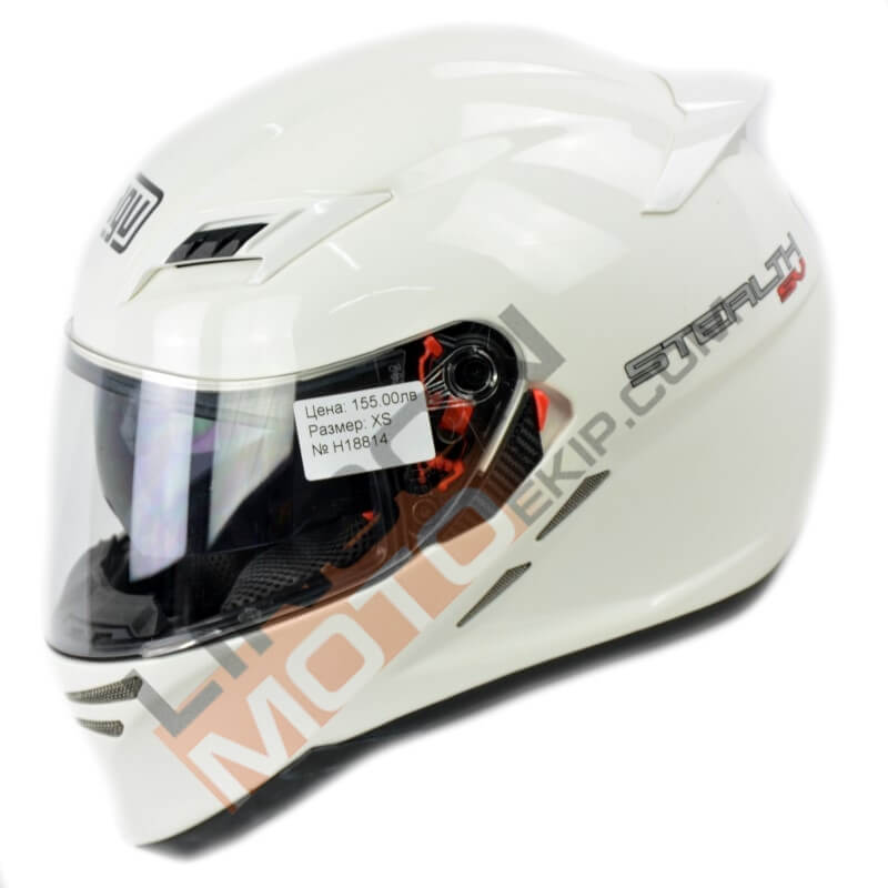 Каска AGV STEALTH SV white H18814 thumb