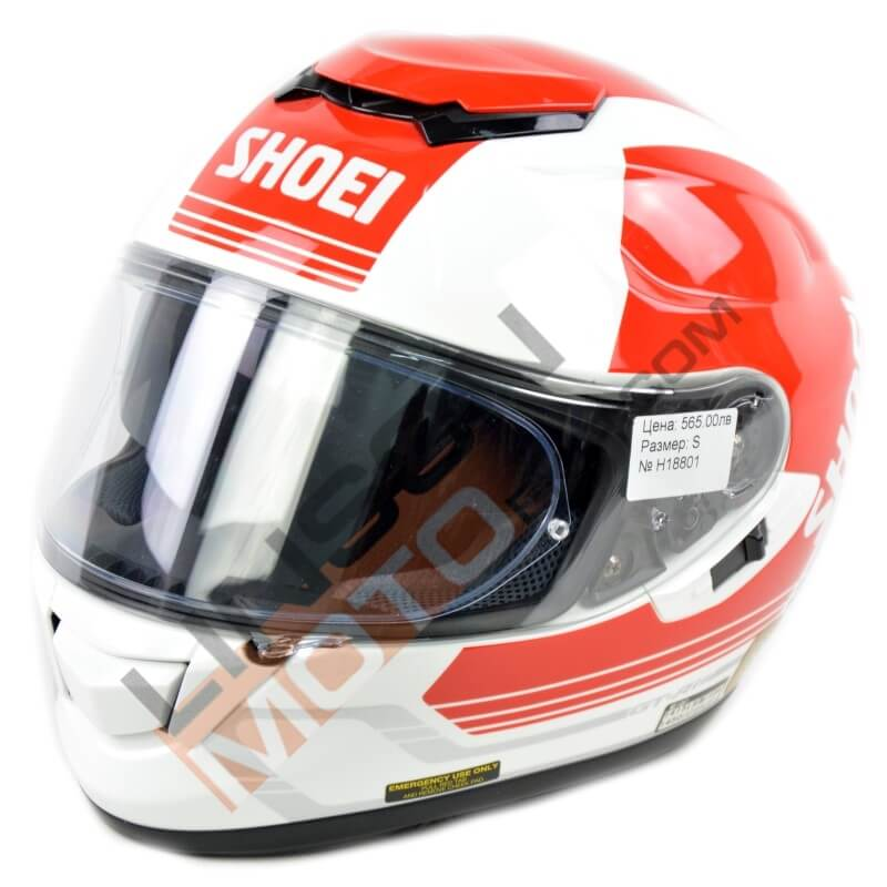 Каска SHOEI GT AIR red H18801 thumb