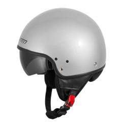 Каска за скутер A-PRO SNIPER SILVER