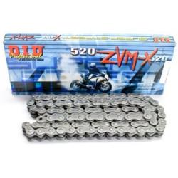 Двойно подсилена мото верига DID 520ZVMX 118-звена DID520ZVMX118
