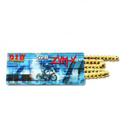 Двойно подсилена мото верига DID 520ZVMXG&G 112-звена DID520ZVMXG&G112
